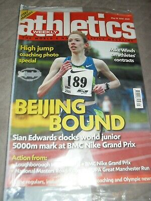 £0.99 • Buy Athletics Weekly Issue May 25th 2006 Sian Edwards