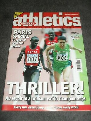£0.99 • Buy Athletics Weekly Issue September 3rd 2003,World Championships.