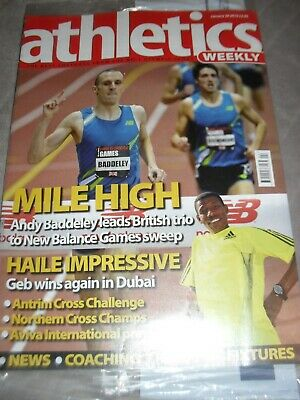 £0.99 • Buy Athletics Weekly Issue January 28th 2010 Andy Baddeley