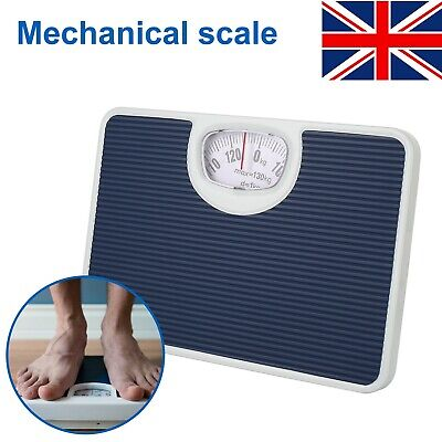 £10.99 • Buy Bathroom Scale Weighing Body Weight Mechanical Home Lose Fat Dial Max.130kg