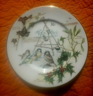 £9.99 • Buy Caverswall  Country Diary , Edwardian Lady Plate December