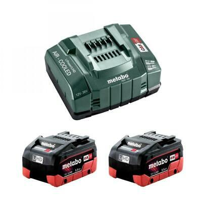 £179.95 • Buy Metabo 685122380 2x 18v 5.5Ah LiHD Battery Starter Kit With ASC 145 Charger