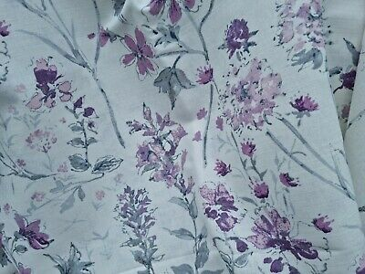 £85 • Buy Door Curtain Thermal Lined In Laura Ashley Pale Iris