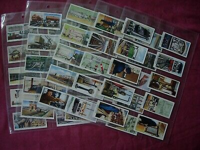 £2.99 • Buy Railway Equipment 1938 W.D.& H.O. Wills Cigarette Cards X50 Set Sleeved VGC