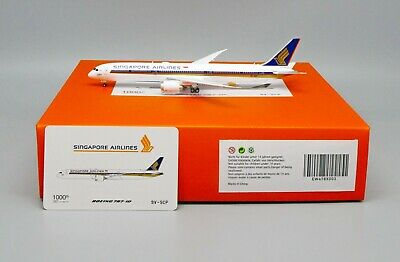 AU94.95 • Buy JC Wings 1:400 Singapore Airlines B787-10 '1000th 787 - Flaps Up' 9V-SCP