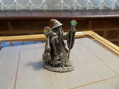 £19.99 • Buy The Hobbit Collection  Gandalf  Pewter Figure With Crystals 1991