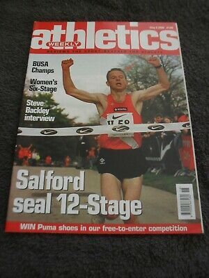 £0.99 • Buy Athletics Weekly Issue May 3rd 2000,Steve Backley