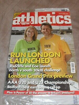£0.99 • Buy Athletics Weekly Issue July 27th 2006 Radcliffe & Coe