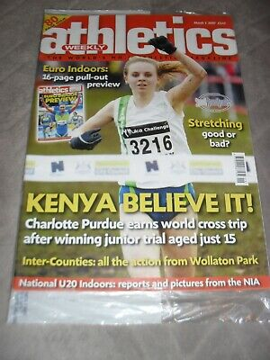 £0.99 • Buy Athletics Weekly Issue March 1st 2007 Charlotte Purdue