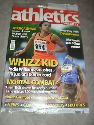 £0.99 • Buy Athletics Weekly Issue June 3rd 2010,Jodie Williams,Usain Bolt