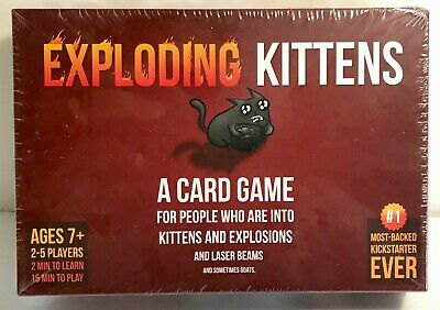 AU13.67 • Buy Exploding Kittens Card Game 2015 New Sealed