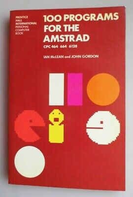£15 • Buy Computer Book 100 Programs For The Amstrad Cpc 464 664 6128