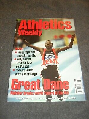 £0.99 • Buy Athletics Weekly Issue February 23rd 2000 Kipketer,Andy Norman