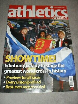 £0.99 • Buy Athletics Weekly Issue March 27th 2008