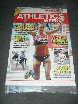 £0.99 • Buy Athletics Weekly Issue April 27th 2017,London Marathon Review