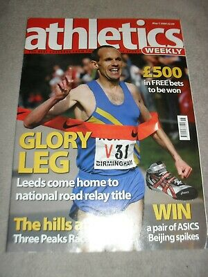 £0.99 • Buy Athletics Weekly Issue May 1st 2008