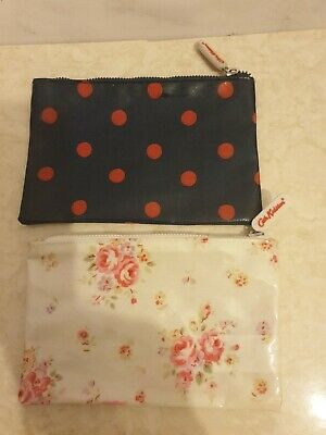 £10 • Buy 2 Cath Kidston Coin Purses Small Makeup Bags? Oil Cloth One Spotty One Floral...