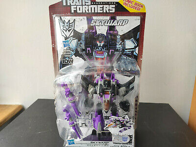 £14.58 • Buy Skywarp Thrilling 30 Sealed MISB MOSC Deluxe Generations Transformers With Comic
