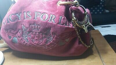 £50 • Buy Juicy Couture Women Bag In Pink Colour Used In A Great Condition