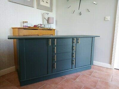 £195 • Buy G Plan Green Long Sideboard TV Cabinet Storage Cupboard Drawers Can Deliver