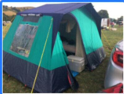 £77 • Buy Lichfield 4 Canvas Frame Tent Used
