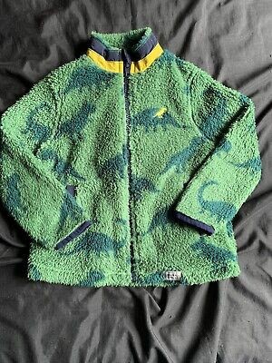 £2.20 • Buy Boys Age 3-4 Marks And Spencer M&S Dinosaur Fleece Zip Top New No Tags