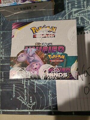 $375 • Buy Pokemon Sun & Moon Unified Minds Booster Box - Factory Sealed - 36 Packs