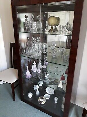 £100 • Buy Display Cabinet, Glass And Mirrored With Lighting