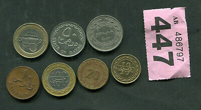£3 • Buy  Set Of 7 Coins Of Arab Countries