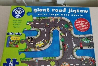 £9 • Buy Orchard Toys Giant Road Jigsaw Puzzle - 20 Piece