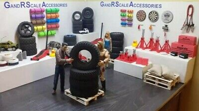 £30 • Buy RC4WD Dirt Grabber 1.9 All Terrain Tire X 4 - 1 RUN ON GRASS - Great Scale Tyre