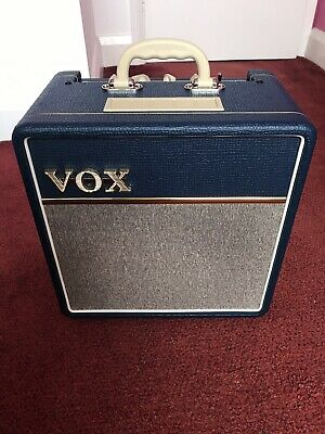 £62 • Buy Vox AC4C1-BL Greenback & Tube Upgrades! Mint Condition.