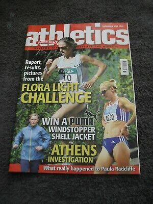 £0.99 • Buy Athletics Weekly Issue 8th September 2004,Athens Investigation