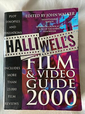 £3.50 • Buy Halliwell's Film And Video Guide: 2000 By Leslie Halliwell (Paperback, 1999)