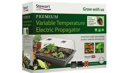 £55 • Buy Stewart Electric Large Heated Propagator With Variable Temperature Control