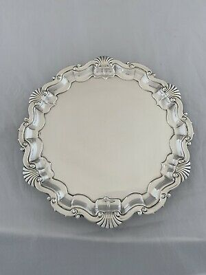 £420 • Buy Antique Silver DRINKS TRAY 21cm Sheffield 1906 MARTIN HALL & CO Sterling Salver