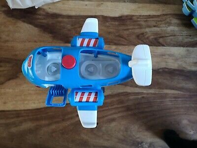 £5.50 • Buy Fisher Price Plane Little People Travel Together Airplane Toy Plane + 3 Figures