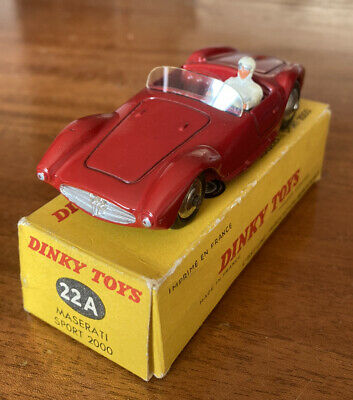 £26.03 • Buy French Dinky Maserati 22A Boxed Racing Car. Excellent!