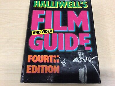 £2.50 • Buy Halliwell's Film & Video Guide. 4th. Vintage Good Condition Hardback Book