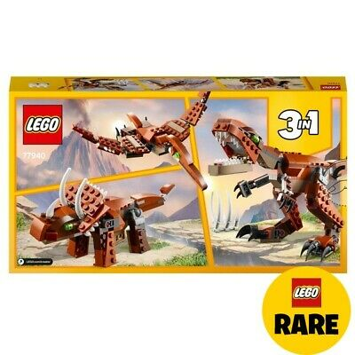 £25.99 • Buy LEGO 77940 Creator 3in1 Mighty Dinosaurs Brown T. Rex Toy RARE BRAND NEW SET