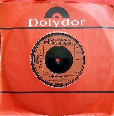 £2.99 • Buy London String Chorale Tv Theme*galloping Home*2058 280*1972 Excellent Condition