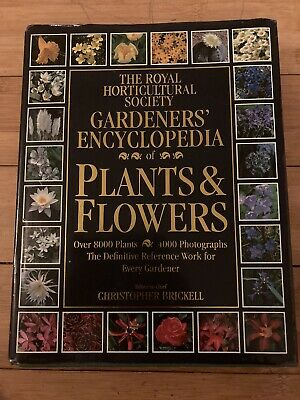 £3.40 • Buy The Royal Horticultural Society Gardeners Encyclopedia Of Plants And Flowers