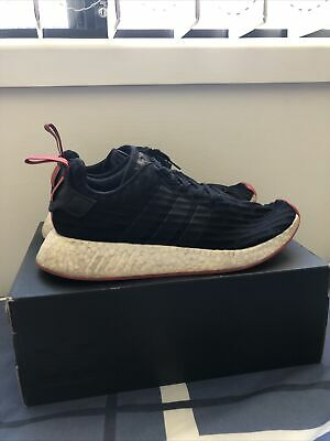 AU50 • Buy Adidas Nmd R2 Black Core Red Size US 9.5