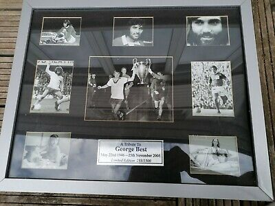 £30 • Buy George Best Limited Edition Picture Frame Tribute
