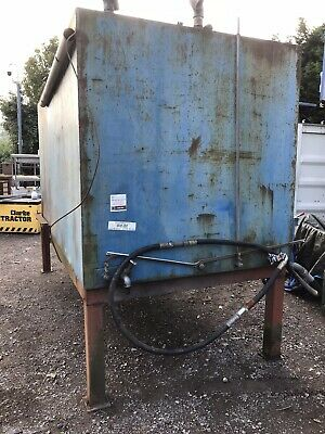 £960 • Buy 2 Compartment Diesel Tank 600 Gallon Each Non Bunded On Stand