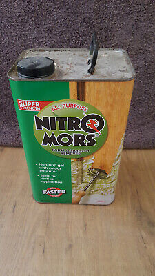 £20 • Buy Nitromors All Purpose Paint And Varnish Remover 4 Litre Slightly Used 90% Full