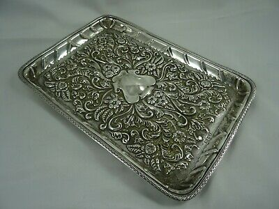 £120 • Buy STUNNING  VICTORIAN Sterling Silver DRESSING TABLE TRAY, 1900, 300gm