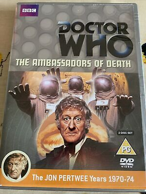 £4.99 • Buy Doctor Who The Ambassadors Of Death (Jon Pertwee) DVD - 2 Discs