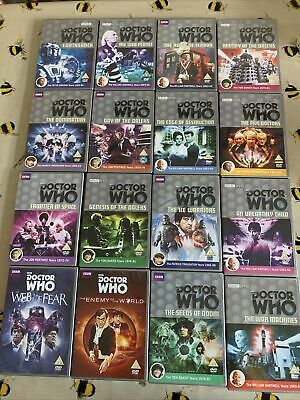 £16 • Buy DOCTOR WHO DVD BUNDLE JOB LOT - 16 X DOCTOR WHO DVDS - BBC DOCTOR WHO COLLECTION