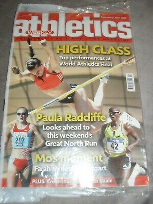 £0.99 • Buy Athletics Weekly Issue  September 27th 2007 Paula Radcliffe
